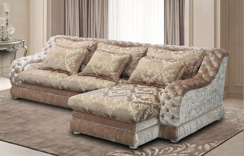 Каретная стяжка диван 108