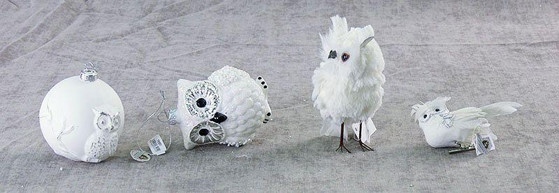 Елочные игрушки маленькие фигурки
