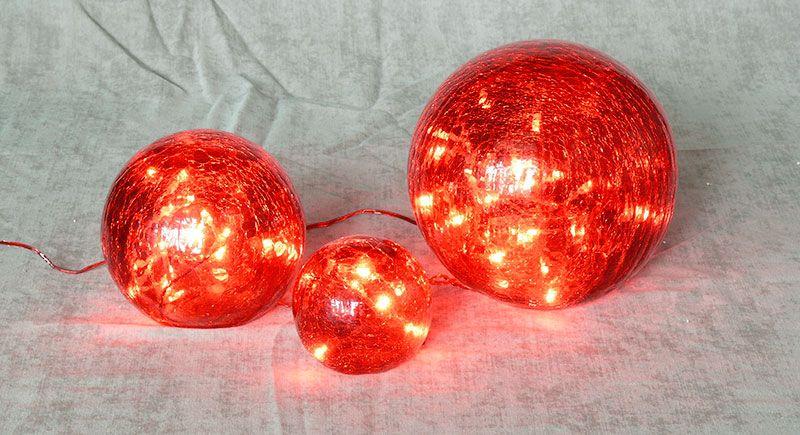 Гирлянда красные шары