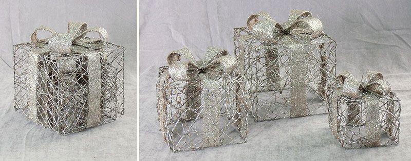 Проволочные волшебные коробки